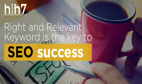 Right and Relevant Keyword is the key to SEO Success.