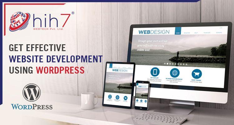Get Effective Website Development Using WordPress