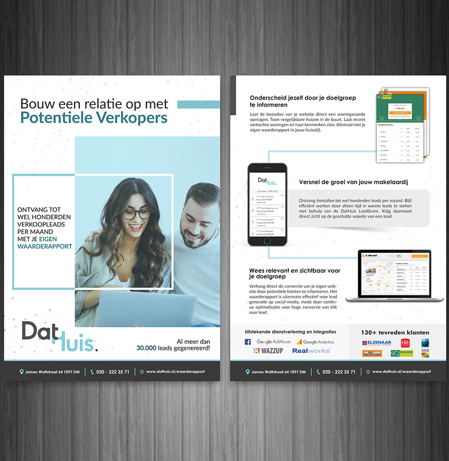Brochure Design For Software Company In Amsterdam Netherlands Hih7